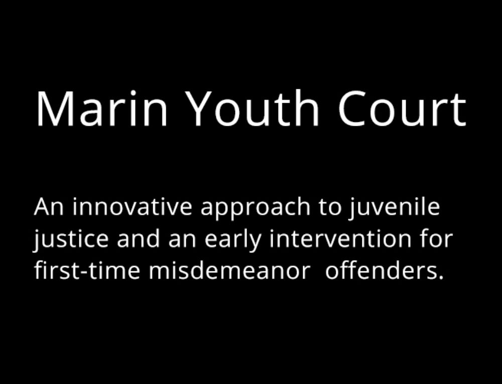 Youth Court in Marin County