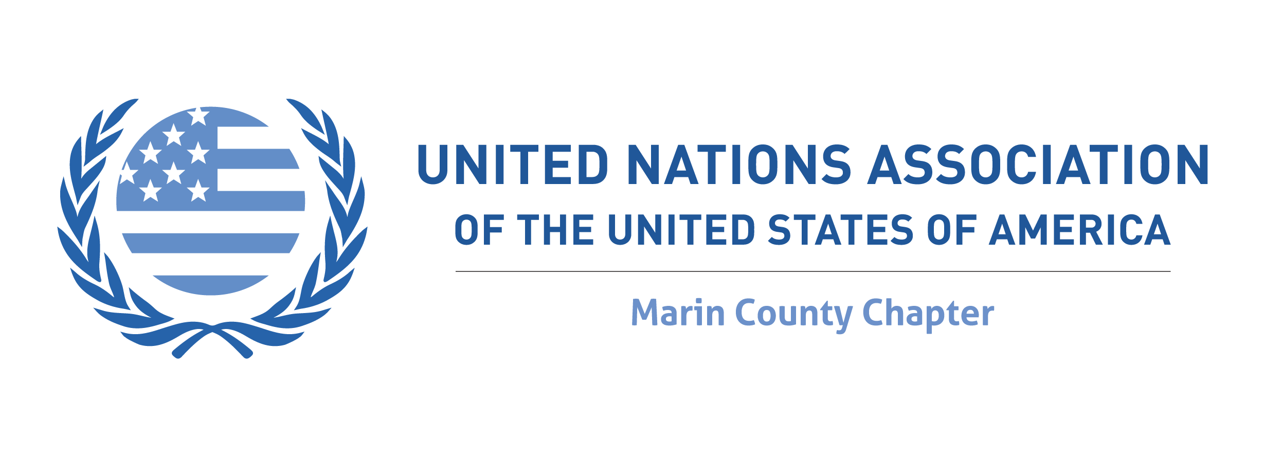 United Nations Association Marin County Chapter logo
