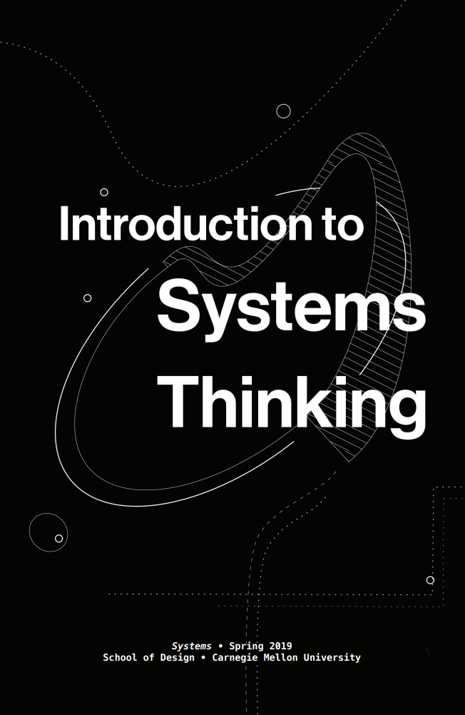 Cover of PDF Introduction to Systems Thinking from Carnegie Mellon University 2019