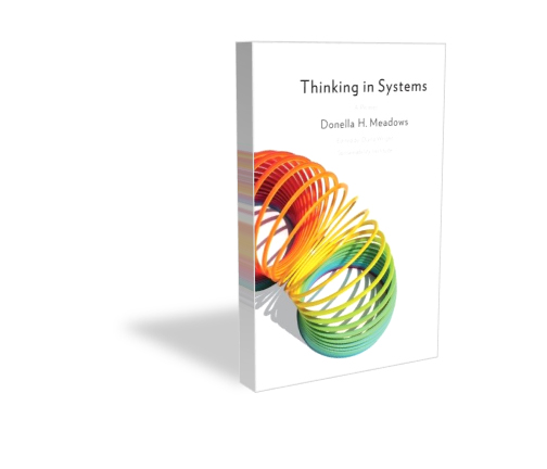 Thinking In Systems - A Primer book cover image in 3D