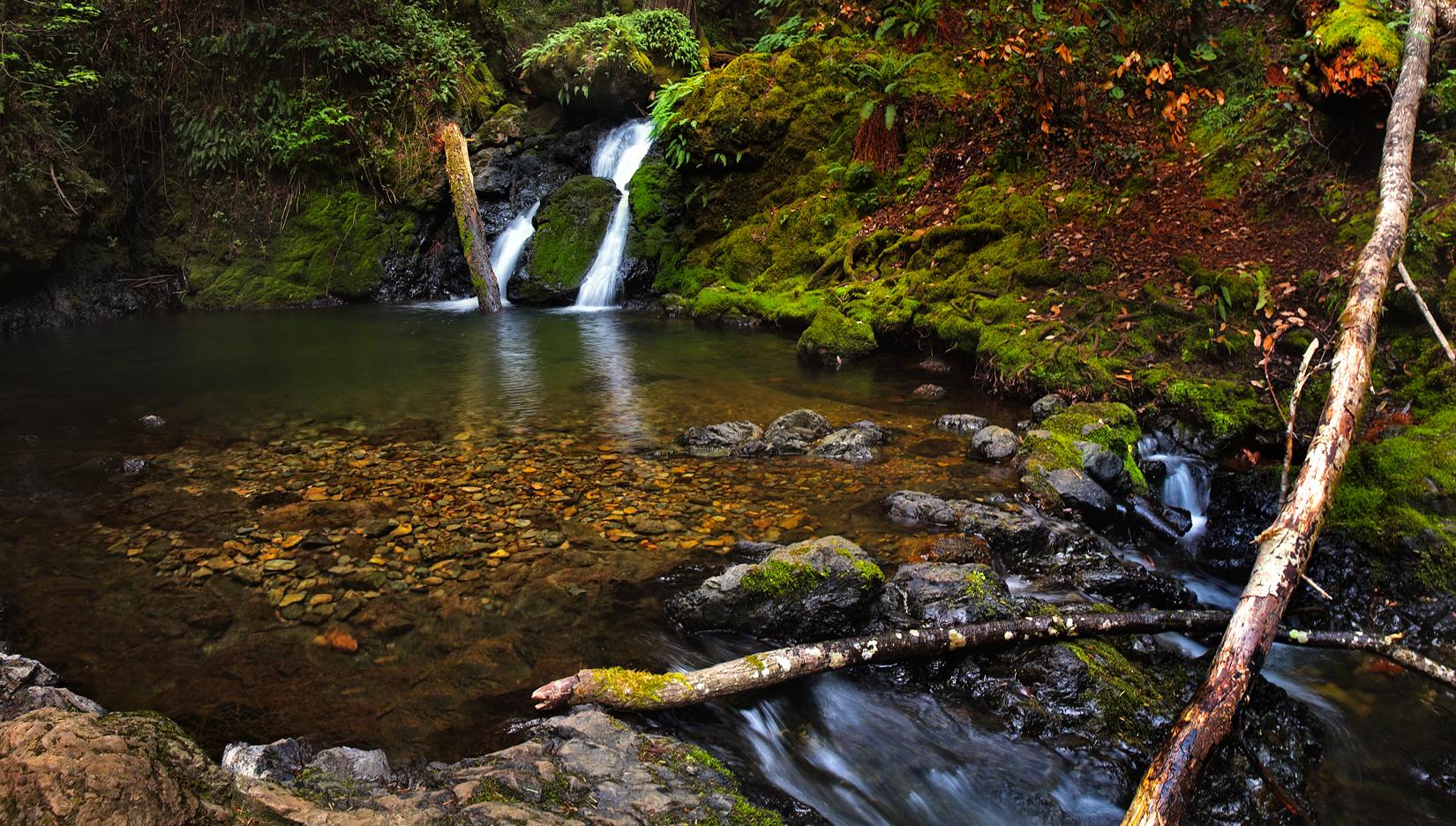 Creek pool
