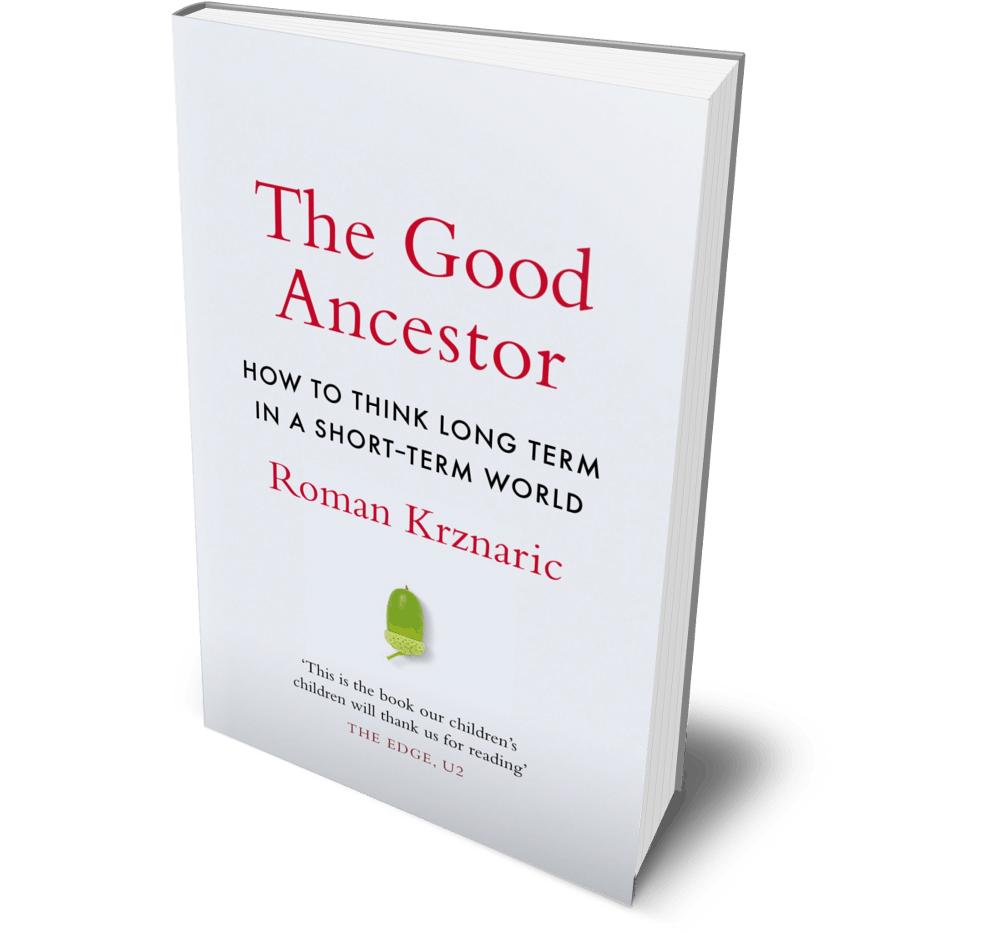 The Good Ancestor book cover three-quarter view